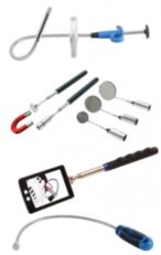 Prendiviti magnetico, pinza & specchietto