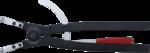 Pinza per anelli di sicurezza curva per anelli esterni 500 mm