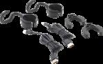 Lampada cofano cofano a LED COB con batteria e supporto espansori 2