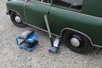 Sollevatore di piano idraulico, da 1,5 a. Costruzione in alluminio acciaio