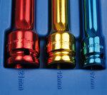 Set di tappi di potenza 1/2 , 3 parti, 17-19-21-mm