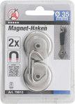 Gancio magnetico rotondo diametro 34 mm 2 pz