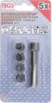 Kit di riparazione per filettatura candela M10 x 1,0 mm