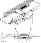 Pialla portatile spessore - 204mm - 2mm