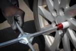 Set per sostituzione pneumatici con martinetto a carrello per veicoli 1,5 t 10 pz