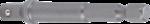 Adattatore per trapano attacco esagono esterno 6,3 mm (1/4) / esagono interno 6,3 mm (1/4)