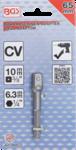 Adattatore per trapano attacco esagono esterno 6,3 mm (1/4) / esagono interno 10 mm (3/8)