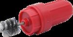 Spazzola per pulizia morsetti batteria 85 mm