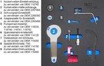 Serie di utensili per regolazione motore per BMW e MINI , 1.5 & 2.0L Diesel