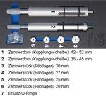 Set di utensili per allineamento frizione per camion 6 pz