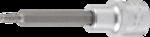 Chiave a bussola lunghezza 100 mm 12,5 mm (1/2) esagono interno
