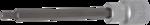 Chiave a bussola lunghezza 140 mm 12,5 mm (1/2) esagono interno