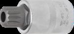 Chiave a bussola 12,5 mm (1/2) poligonale interno (per XZN) con alesatura M16