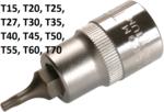 Chiave a tubo da 12,5 mm (1/2) profilo a T (per Torx)