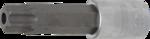 Chiave a bussola lunghezza 100mm (1/2) profilo a T (per Torx) con alesatura T80
