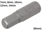 Inserto attacco esagono esterno 8mm (5/16) esagono interno