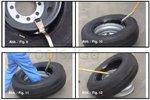 Leva di montaggio e smontaggio per camion e pneumatici 28 - 30 mm