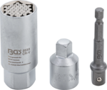 Set di chiavi multipresa e adattatori (3/8) 9 - 21mm 3-dlg