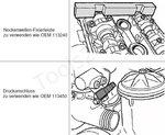 Doppio set di strumenti di regolazione per BMW M52TU / M54 / M56