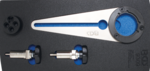 Porta puleggia dell'albero a gomiti e set di utensili rotanti per BMW 2.5D