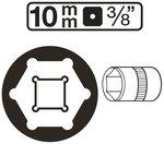 Bussola esagonale 10 mm (3/8)
