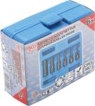 Serie di bussole serr.elettrodi candeletta (1/4) 6 pz