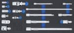 Set di prolunghe, adattatori e cerniere 17-dlg