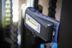 Lampada da lavoro a COB-LED con magnete e gancio pieghevole con indicatore di carica ad induzione