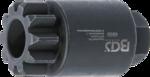 Utensile di rotazione per volano / albero motore per Volvo / Renault MP8 / MP10 / D13A