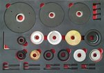 Master HBU Set di montaggio per cuscinetti 62/66/72/78/82/85 mm