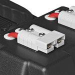 Vano batterie 30x20x20 cm 2x USB - 1x presa 12V - Voltmetro - 2x connettori Anderson