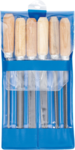 Serie di lime manico in legno 100 mm 6 pz