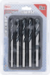 Serie di punte HSS 10 - 11 - 12 - 13 - 15 mm 5 pz