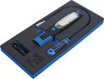 Modulo per carrelli portautensili 1/3: lampada+prenditutto magnetico 3 pz