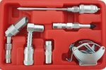 Set di accessori per ingrassatori a 12 pezzi