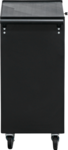 Carrello portautensili 4 cassetti, 1 scomparto pieghevole vuoto