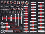 Carrello portautensili 7 cassetti 1 sportello laterale con 250 utensili
