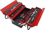 Valigetta utensili in metallo incl. assortimento utensili 86 pz