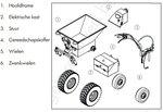 Minidumper elettrico 500kg molla a gas