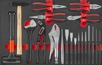Carrello degli attrezzi Black Edition 308 pezzi