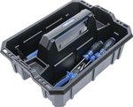 Valigia da trasporto per utensili in plastica rinforzata Assortimento di utensili 11 pezzi