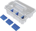 Divisori per valigetta portautensili in plastica rinforzata 6 pezzi