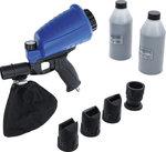 Pistola di sabbiatura pneumatica incl. accessori 3 pz