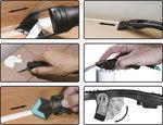 Set utensili per rimozione silicone e spatole 7 pz