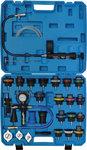 Set per test pressione sistemi di raffreddamento incl. strumenti di riempimento 28 pz
