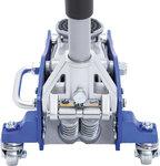 Martinetto a carrello per veicoli idraulico struttura in alluminio-acciaio 1,5 t
