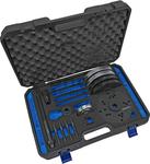 Set di utensili per cuscinetti ruota, diametro 82 mm, Ford / Land Rover / Volvo