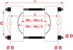 Cuscinetto estrattore, funzione di spinta e trazione 14 parti