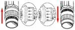 Set chiavi dinamometriche 40 - 210 Nm 11 pezzi