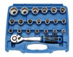 Set di chiavi a tubo da 12,5 mm (1/2) 8   32 mm 27 pezzi